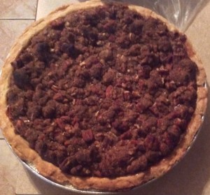 December - Chocolate Pecan Pie